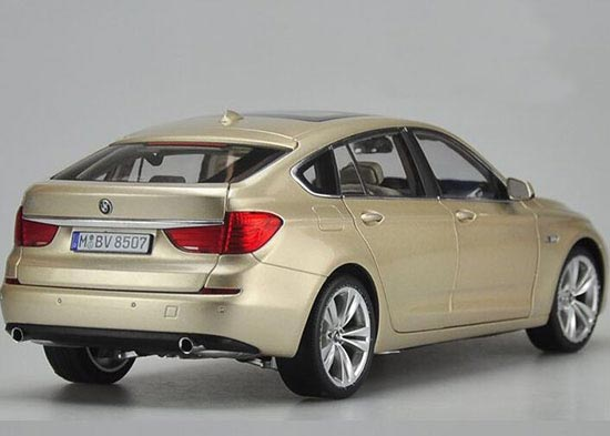 White Golden Black Diecast BMW Series GT Model - 535 gt bmw