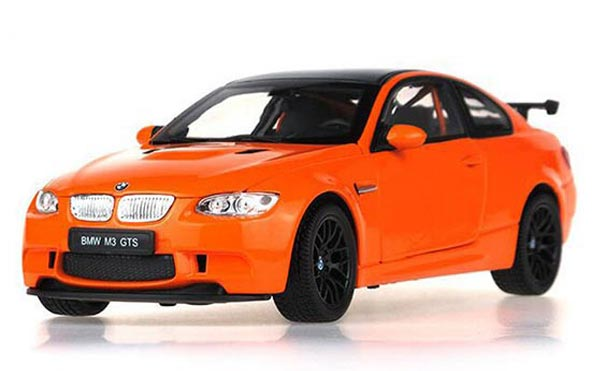 Orange 1:18 Scale Diecast BMW M3 GTS Model
