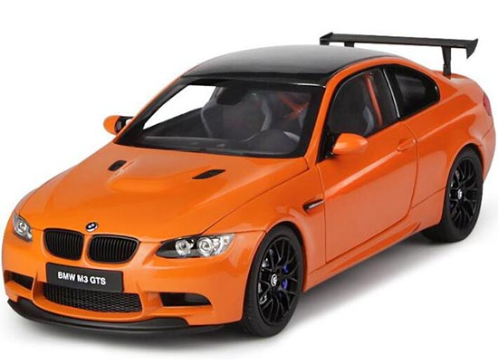 Orange / White 1:18 Scale Kyosho Diecast BMW M3 GTS Model