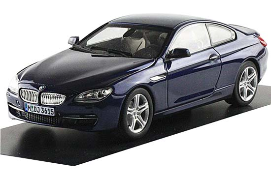 Black / Blue / White / Golden Diecast BMW 650i Coupe Model