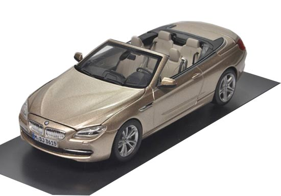 Golden 1:43 Die-Cast BMW 650i Cabrio Model