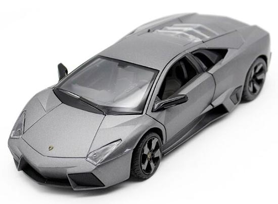 Gray 1:24 Scale RASTAR Die-cast Lamborghini Reventon Model