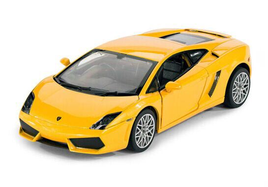 Yellow / Orange 1:20 Diecast Lamborghini Gallardo Model