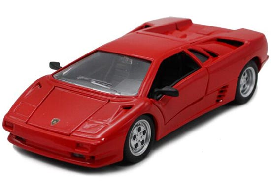 Red 1:24 Scale Maisto Diecast Lamborghini Diablo Model