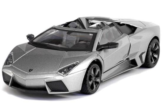 Yellow / Orange / Gray 1:24 Diecast Lamborghini Reventon Model