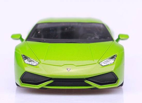 yellow green 1 24 maisto diecast lamborghini huracan model nb9t593 ezbustoys com. Black Bedroom Furniture Sets. Home Design Ideas