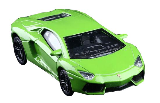Kids 1:43 Red / Green Die-Cast Lamborghini Aventador Toy