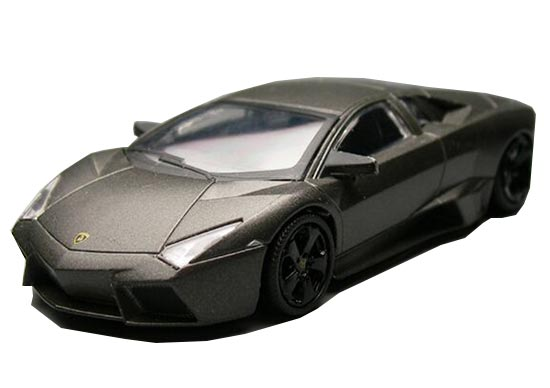 Gray 1:43 Scale Kids Die-Cast Lamborghini Reventon Toy