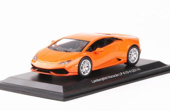 Orange / Red / Green 1:43 Lamborghini Huracan LP610-4 Model