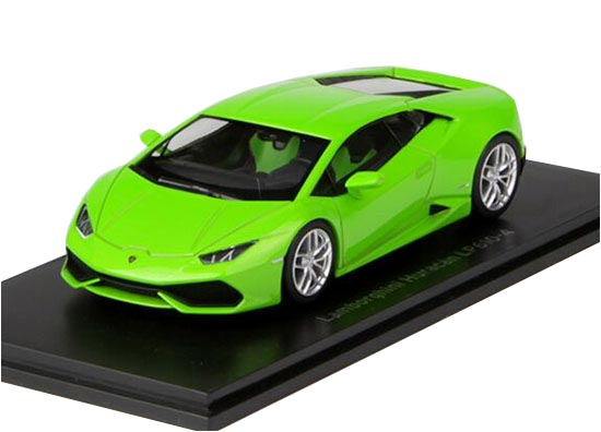 White / Red / Green 1:43 Kyosho Lamborghini Huracan Model