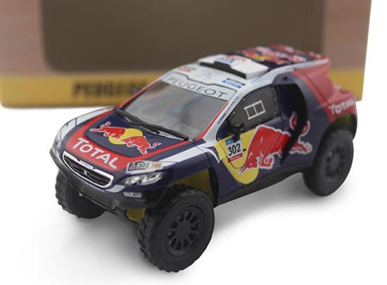 1:43 Scale Die-Cast 2015 Peugeot 2008 DKR Model