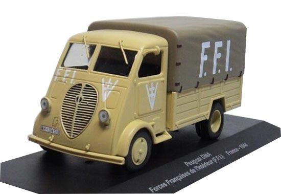 1:43 Altaya Diecast Peugeot DMA France 1944 Model