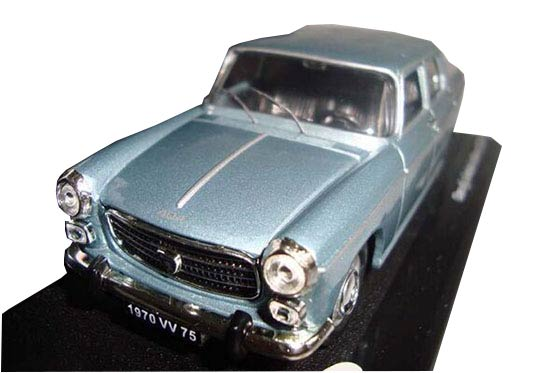 Blue 1:43 Scale Vitesse Diecast Peugeot 404 Model