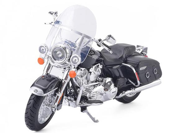 Black 1:12 Harley Davidson FLHRC ROAD KING CLASSIC Model