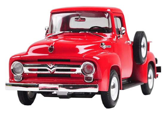 1:18 Scale Welly Die-Cast 1956 Ford F-100 Pickup Model