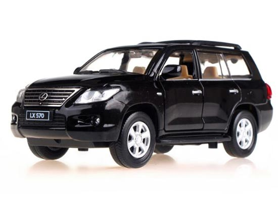 1:32 Kids White / Red / Black / Blue Die-Cast Lexus LX570 Toy