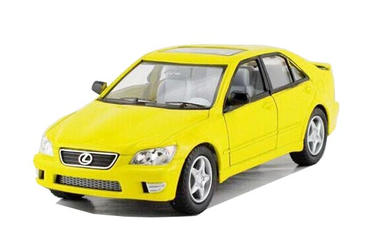 Black / Silver / Red / Yellow 1:36 Kids Die-Cast Lexus IS300 Toy