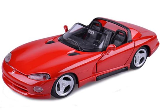 1:24 Red Maisto Diecast 1995 Dodge Viper Model