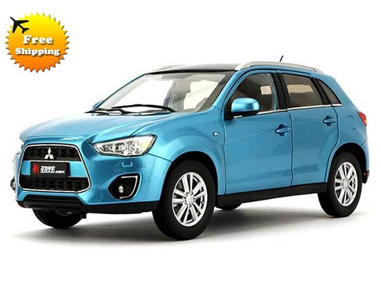 blue 1 18 scale diecast 2015 mitsubishi asx model nb9t978. Black Bedroom Furniture Sets. Home Design Ideas