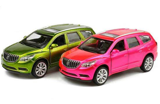Green / Pink 1:43 Scale Kids Diecast Buick Enclave Toy
