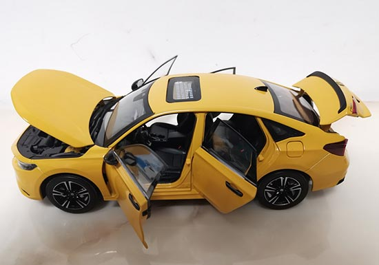 Red Abs Plastic Made Classical Rc Double Decker Bus