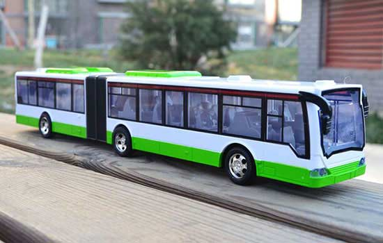 Lengthened Kids Full Functions R/C City Articulated Bus Toy