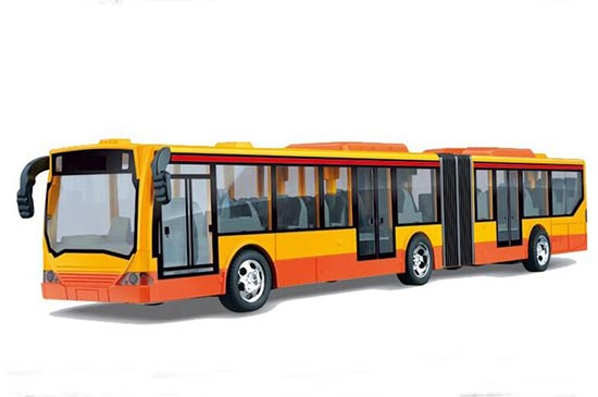 Lengthened 4 Channels City RC Bus