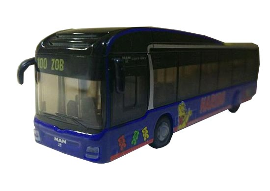 1:87 Scale Black SIKU U1894 Toy City Bus