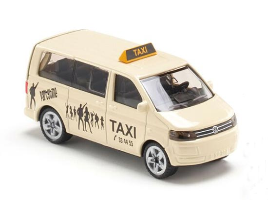 1:87 Scale White SIKU U1360 Kids VW T5 Taxi Toy