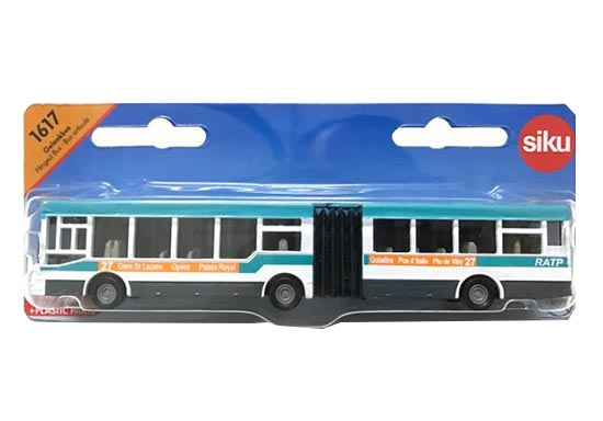 Articulated Design SIKU 1617 Mann Park Bus Toy Model
