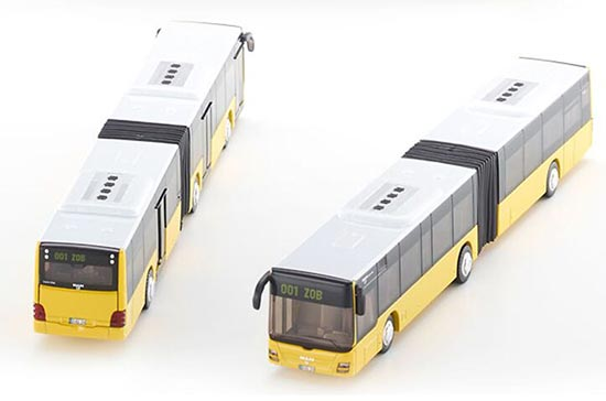 1:50 Scale Yellow SIKU 3736 MAN Lions Articulated City Bus Model