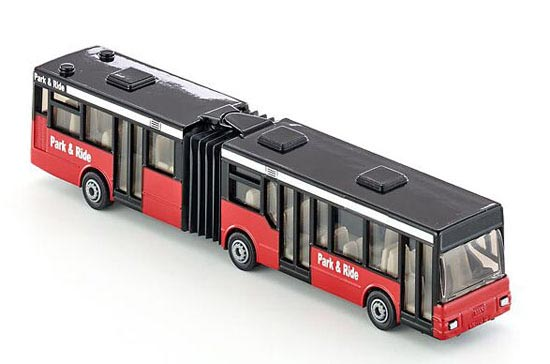 Kids Red SIKU 1617 Articulated Design Bus Toy