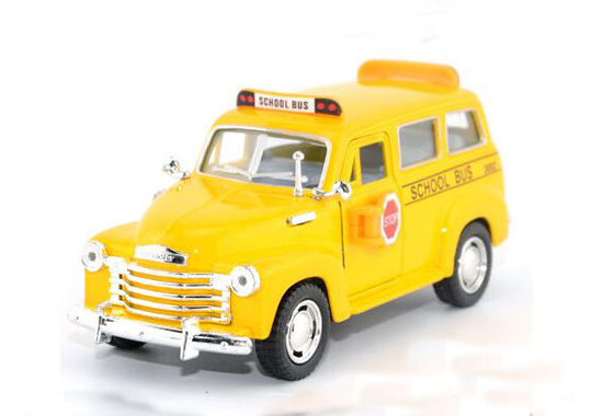 Kids Lovely Yellow U.S School Bus Toy