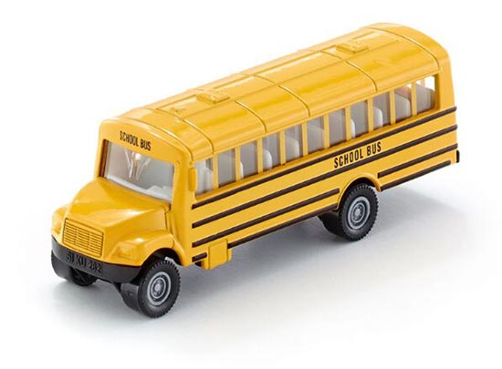 1:87 Scale Siku U1319 Kids Yellow Die-cast School Bus Toy