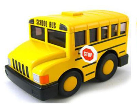 Fat Design Yellow Classical U.S. School Bus Toy
