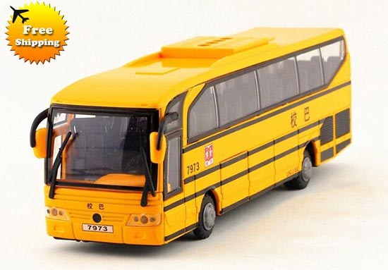 Five Opening Doors Chinese Words Yellow School Bus Toy