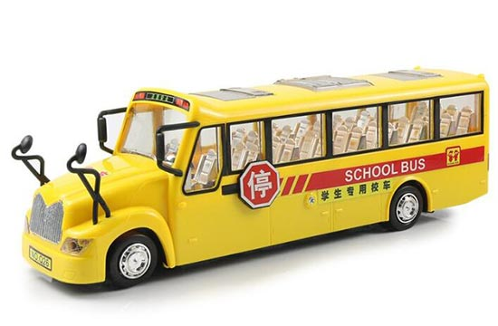Large Long Size Chinese Style Electric Kids School Bus Toy