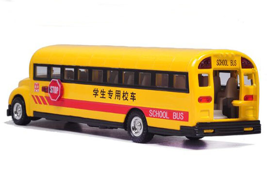 1:32 Scale Yellow Kids U.S. School Bus Toy