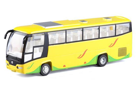 Yellow/ White /Red /Blue Deluxe BeiJing to HongKong Tour Bus Toy