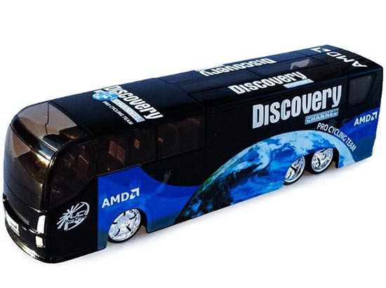 1:50 Scale Black Tour De France Bus Model