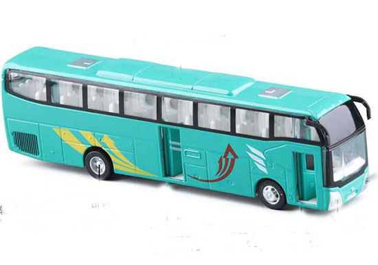 Kids White / Red / Green / Blue Provincial Tour Bus Toy