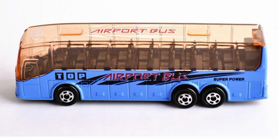 1:72 Scale Kids Yellow / Blue / Green / White Airport Bus Toy