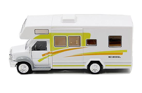 Yellow / Red / Green Kids Motor Homes Tour Bus Toy