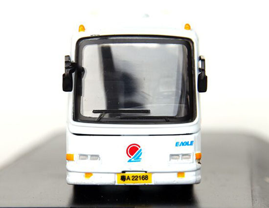 1:76 Scale White-Blue / White-Green GuangZhou Tour Bus Model