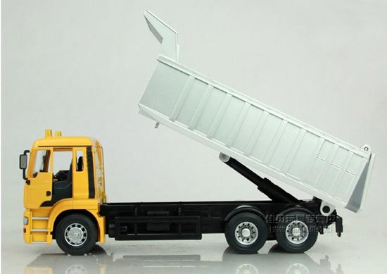 Yellow /Orange 1:32 Scale Germany MAN Self-discharging Truck Toy