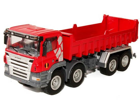 1:50 Scale Red Kids Self-discharging Truck Toy