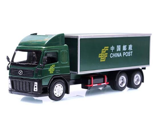 Kids Green China Post Theme Cargo Container Truck Toy