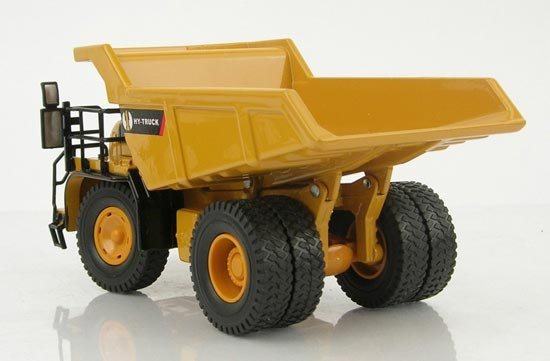 1:50 Scale Yellow Mineral Transportation Truck Toy
