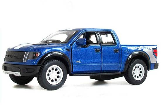 Kids Red / White / Blue / Black Die-Cast Ford F150 Pickup Truck