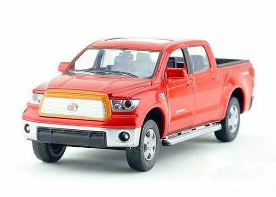 Red / White / Green /Blue 1:32 Die-Cast Toyota Tundra Pickup Toy